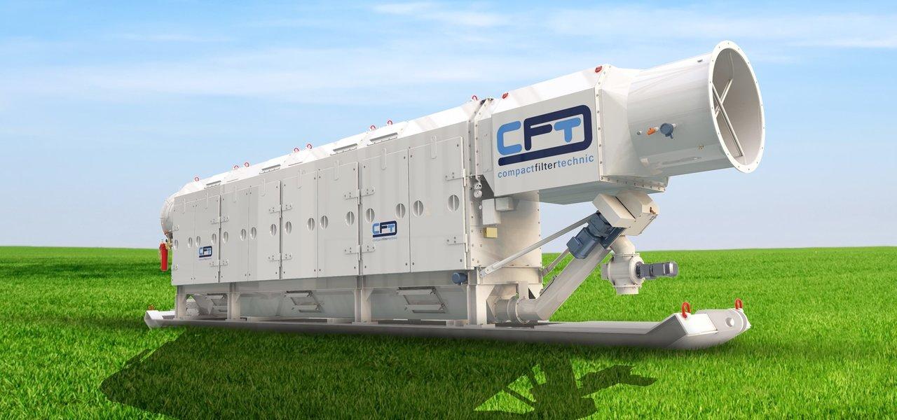 Trockenentstauber TYP CFD der CFT GmbH