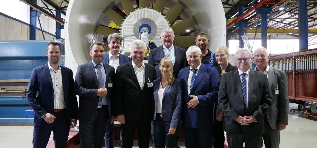 Pinkwart Minister NRW CFT Bergbau Entstaubung