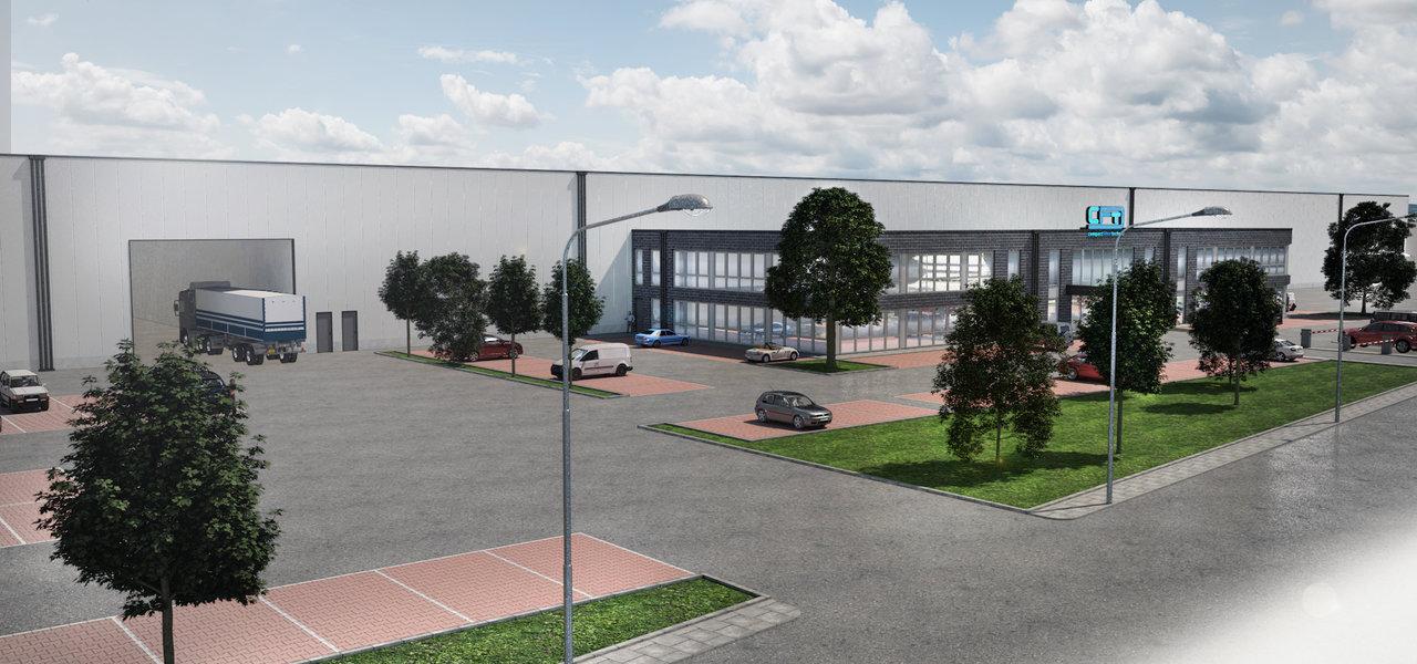 Neuer Firmensitz in Marl CFT Neubau