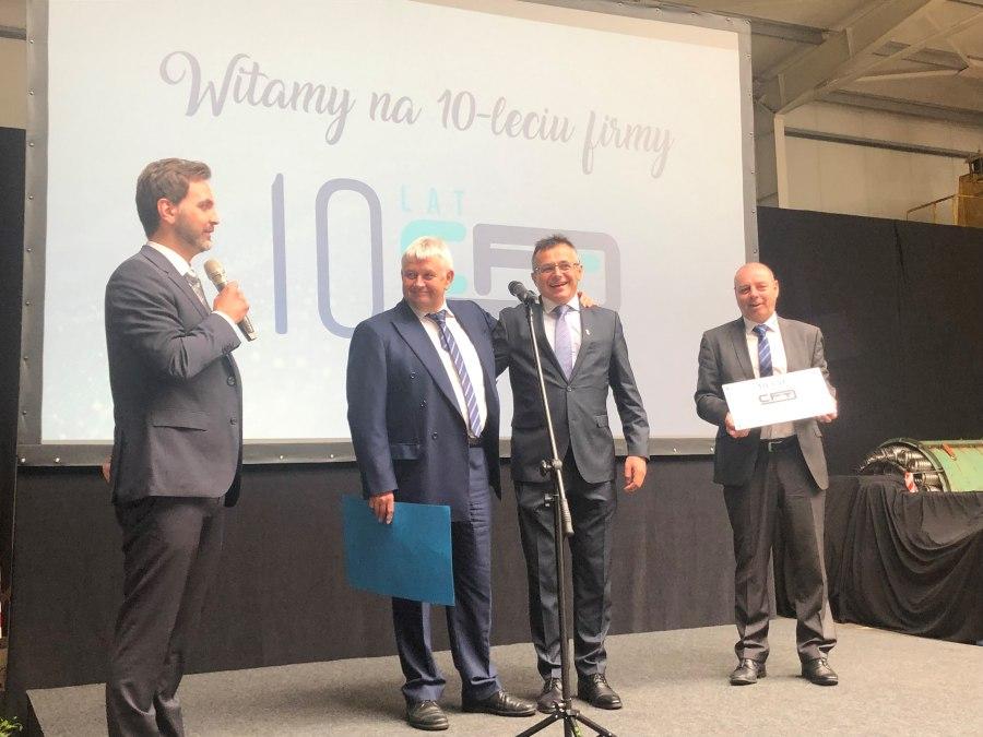 10 Jahre CFT Polska CFT Kasachstan Jubiläum